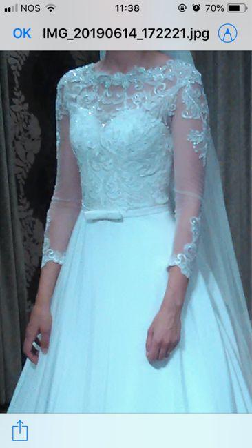 Mangas vestido de noivas 1