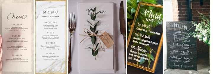Manualidades (28): Menus ou ementas - como deixar os vossos convidados a salivar - 1