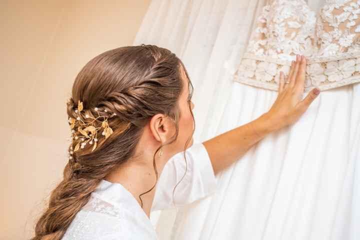 És uma noiva de cabelo comprido ou curtinho? - 1