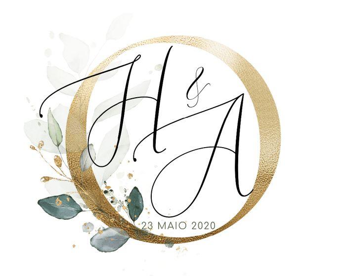 Manualidades (03): Monograma do vosso casamento 2
