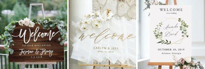 Manualidades (21): Placas de Entrada na Cerimónia – Sinalética do vosso casamento 1