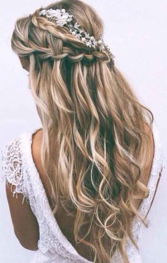 Penteado para noiva - 1