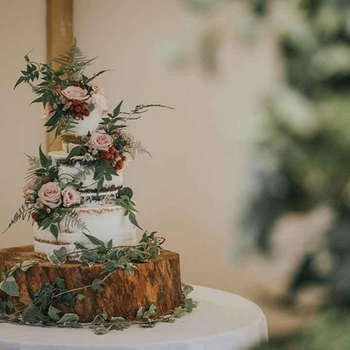 Inspirações para noivas de Outono - bolo - 2