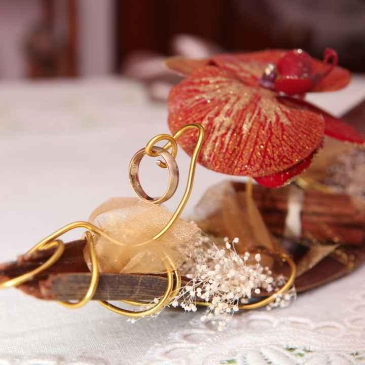 Inspirações para noivas de Outono - porta alianças - 5