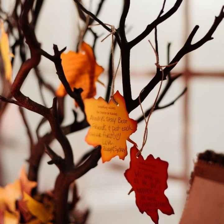 Inspirações para noivas de Outono - guestbook - 1
