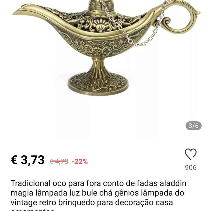 Team Disney - Tapete Aladin/almofada Sapato Cinderela - 1