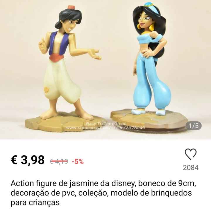 Team Disney - Tapete Aladin/almofada Sapato Cinderela - 2