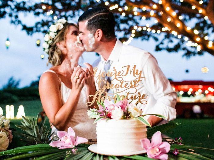 Smash the wedding cake 👍🏻 👎🏻 6
