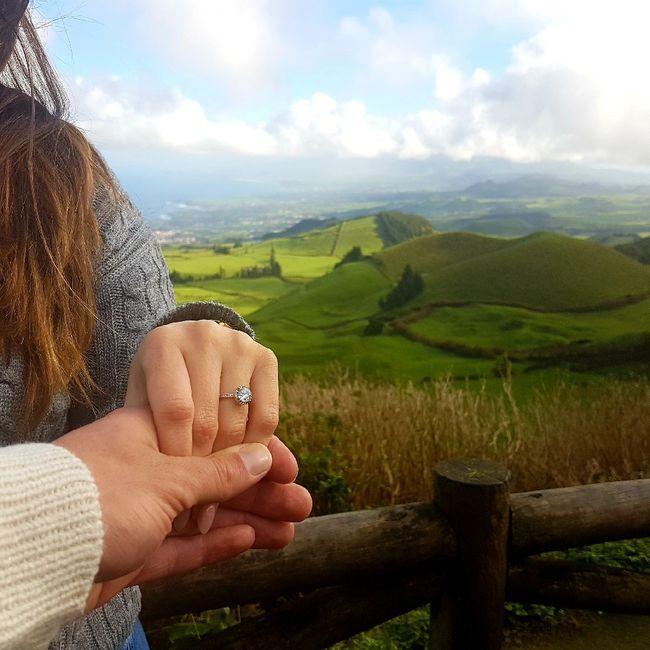 Boa noite :) Adorava ver os vossos anéis de noivado :) Quem quer partilhar? 15