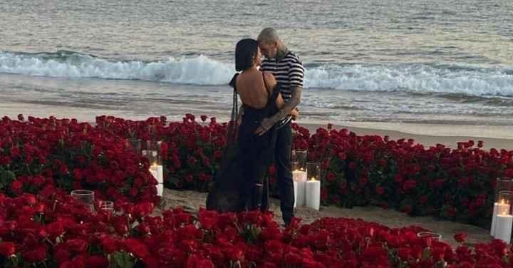 Kourtney Kardashian está noiva!!! O que dizem do anel? - 1