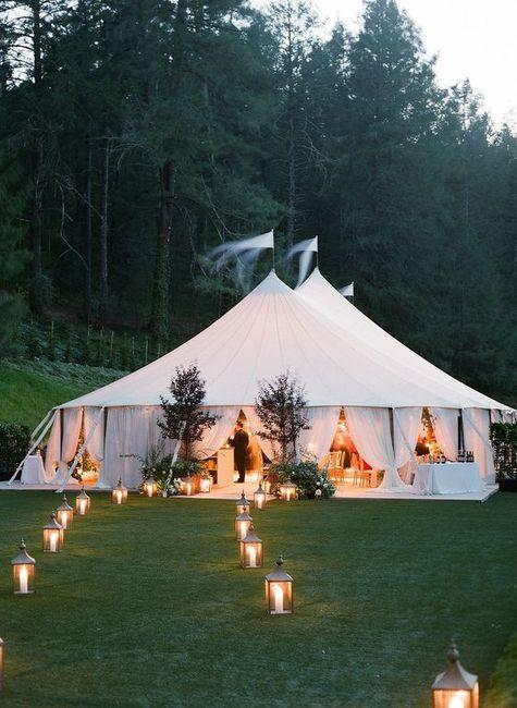 Casamento numa tenda? Farias? 1