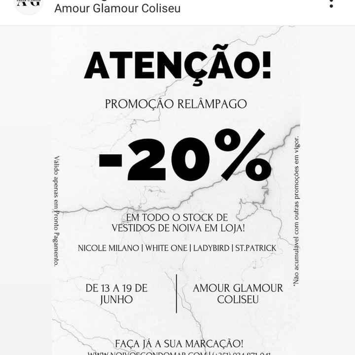 Promoção loja Amour Glamour-coliseu - 1