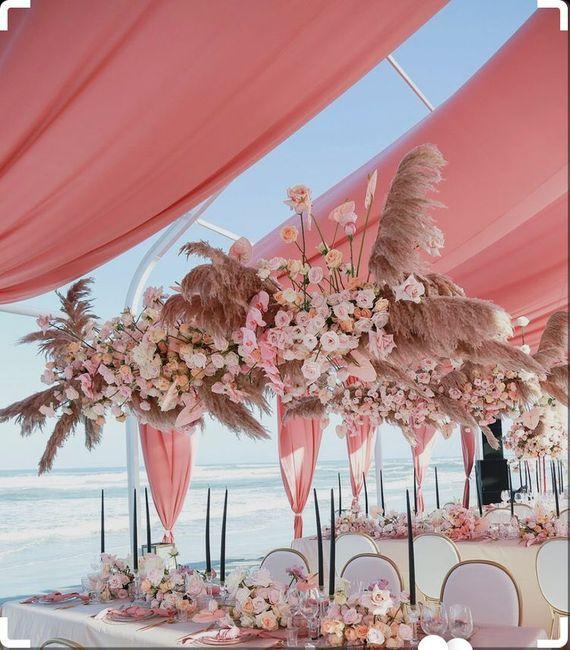 Outubro é Rosa -decoração de Casamento 7