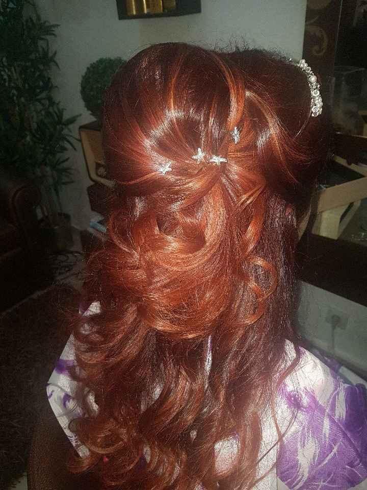 Prova penteado - 2