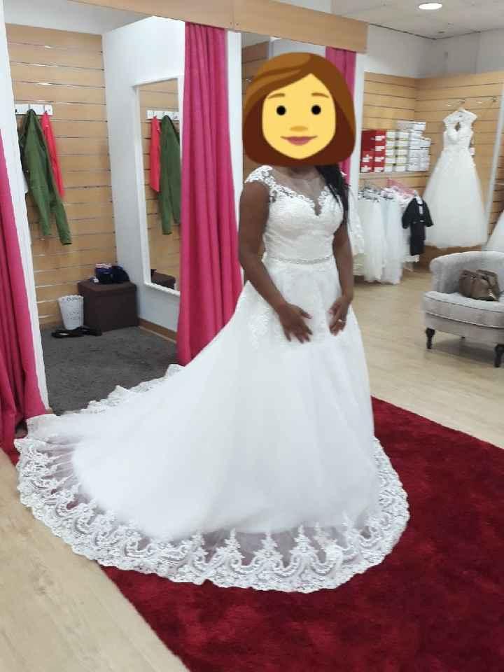 Primeira prova de vestido de noiva - 2