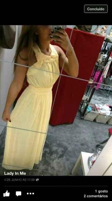 vestido dama