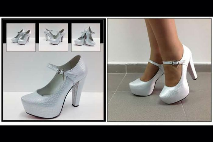 Sapatos prateados - 1