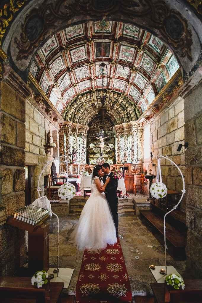 a decoração  da igreja tem ser igual ao ramo da noiva? - 3