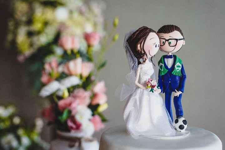 a decoração  da igreja tem ser igual ao ramo da noiva? - 4