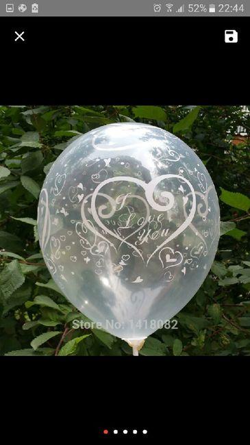 Balões para decoração dos carros  dos convidados - 3