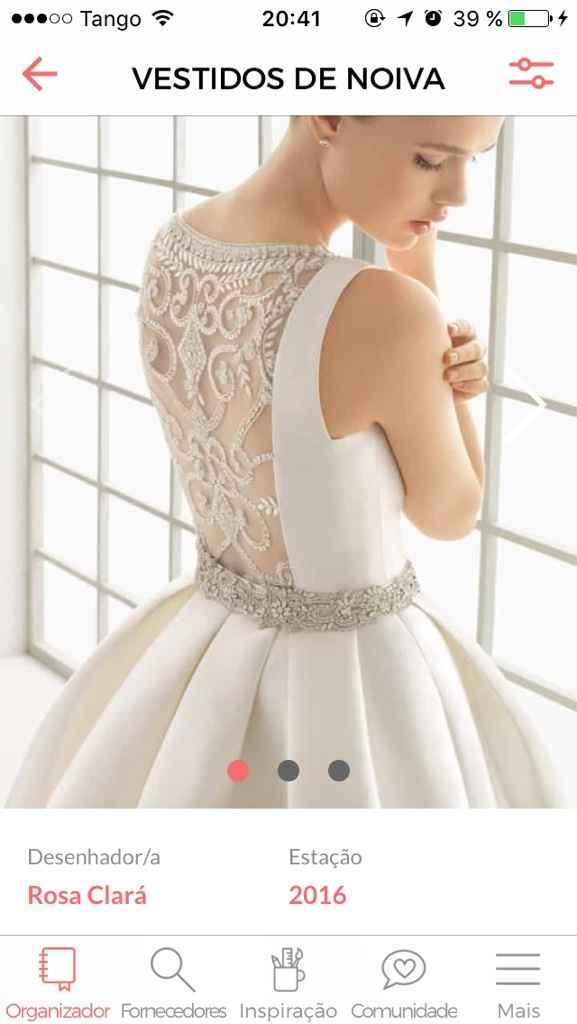 Preço do vestido - 1