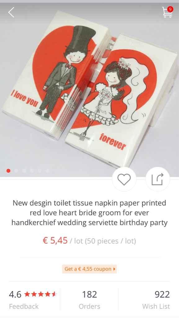 Desenhos nos lenços de papel - 1