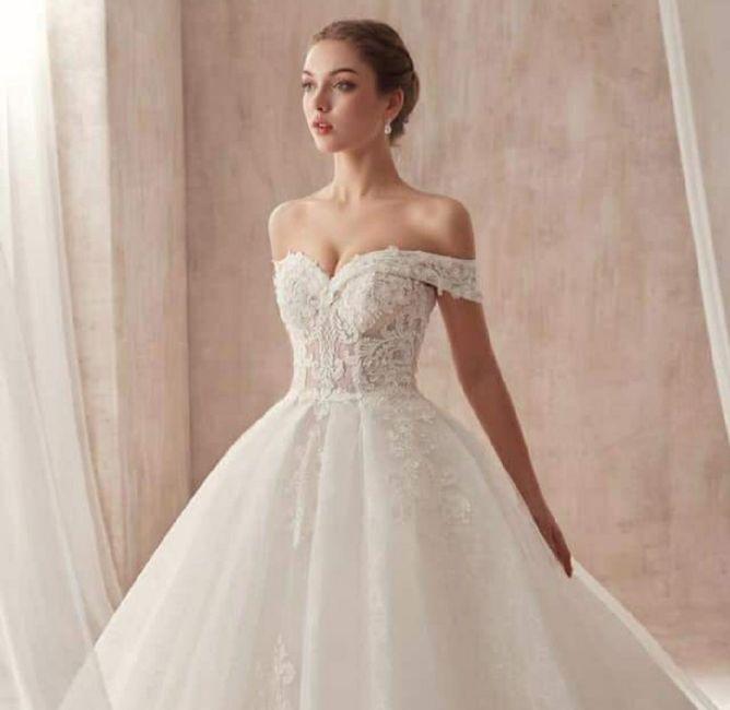 o que mais gosto no vestido de noiva - Daniela - 1