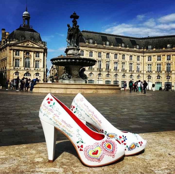De que cor vão ser os vossos sapatos de noiva? - 1