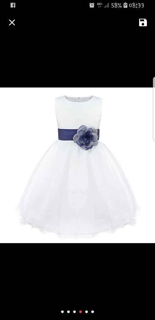 Vestido meninas das Flores. - 1