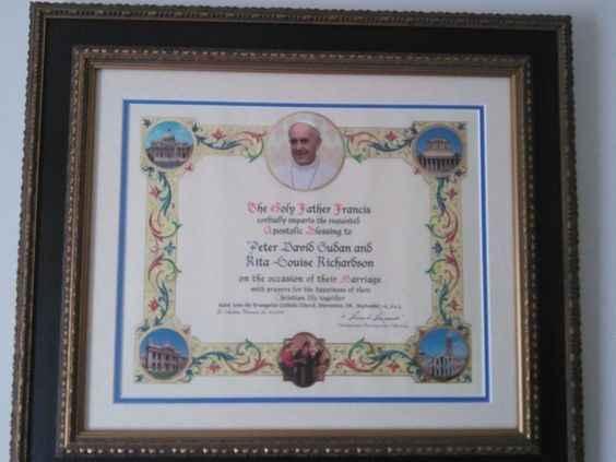 Benção Papal - 1