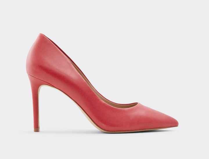 Arco-íris nupcial - Sapatos vermelhos - 1
