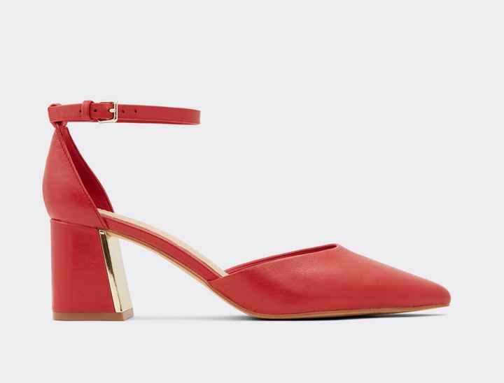 Arco-íris nupcial - Sapatos vermelhos - 4