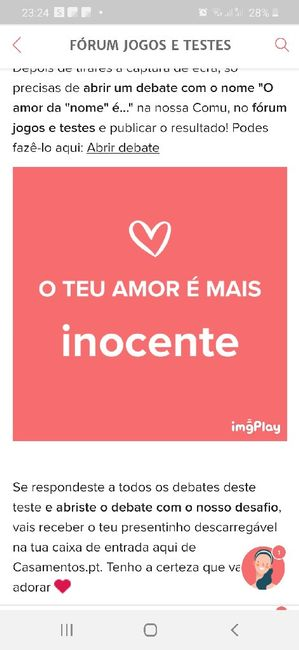 o vosso amor é inocente? o nosso também - 1