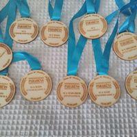 Medalhas para convidados