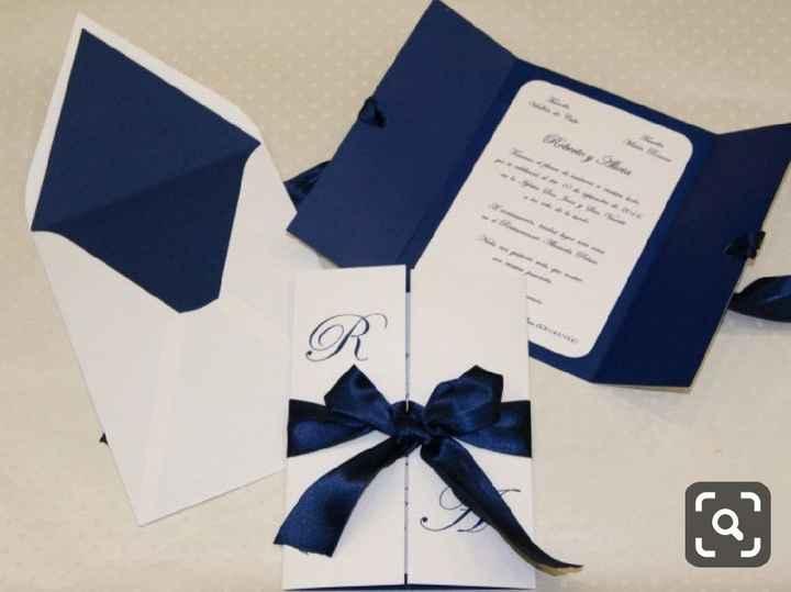 a minha inspiração com Classic Blue - convites - 5