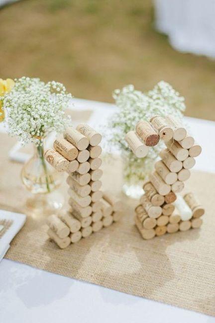 Identificar mesas com números - Inspirações! 9