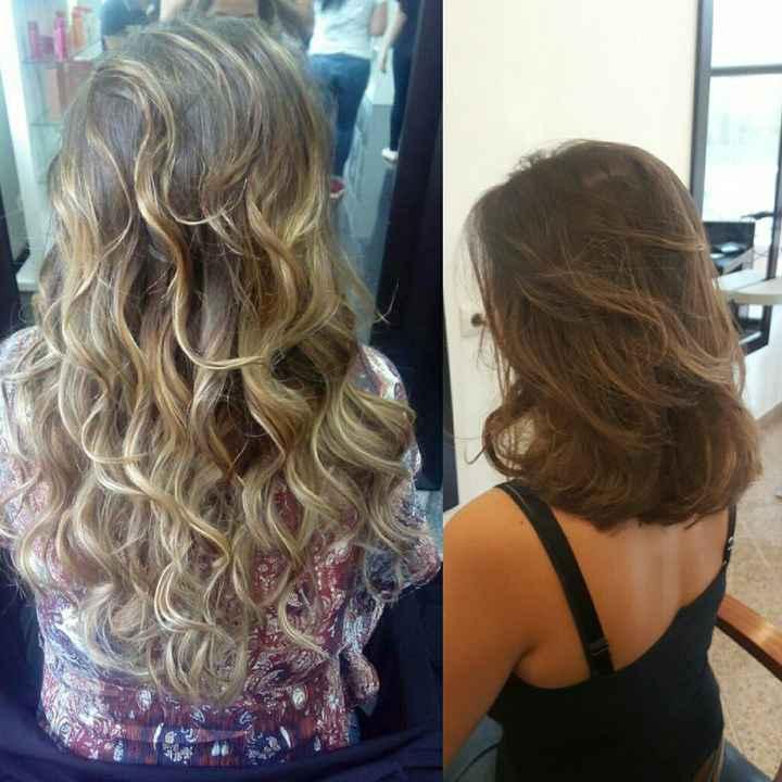 Corte de cabelo - 1