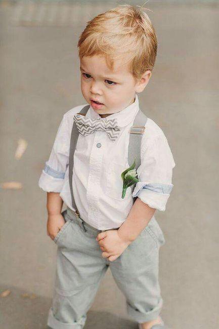 Ideias para roupa dos meninos das alianças.. - 1 6c719957900
