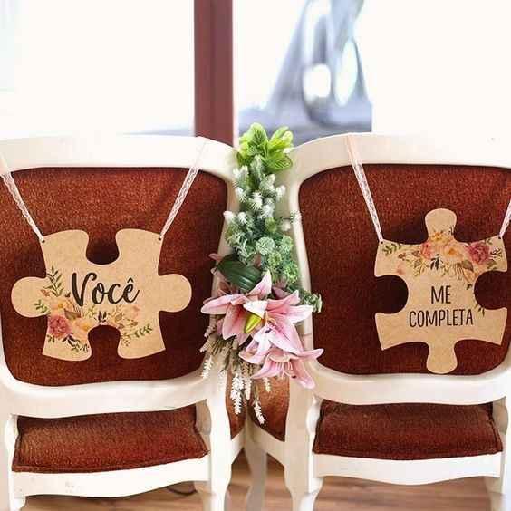 Batalha de estilos: a cadeira dos noivos - 2