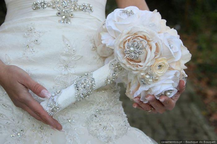 Este bouquet... PROIBIDO no meu dia C! 💐 2