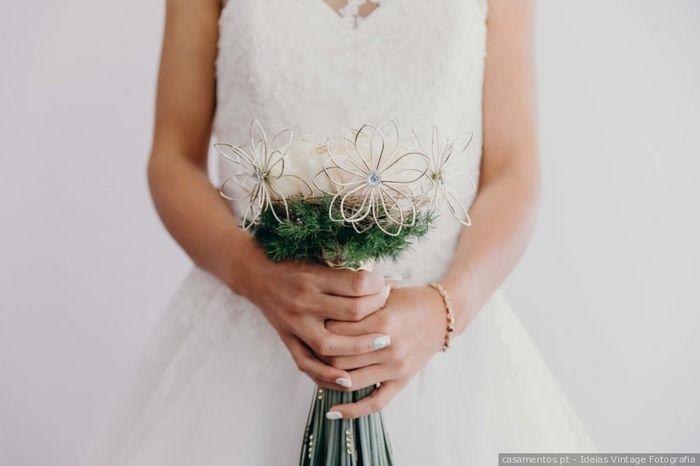 Este bouquet... PROIBIDO no meu dia C! 💐 3