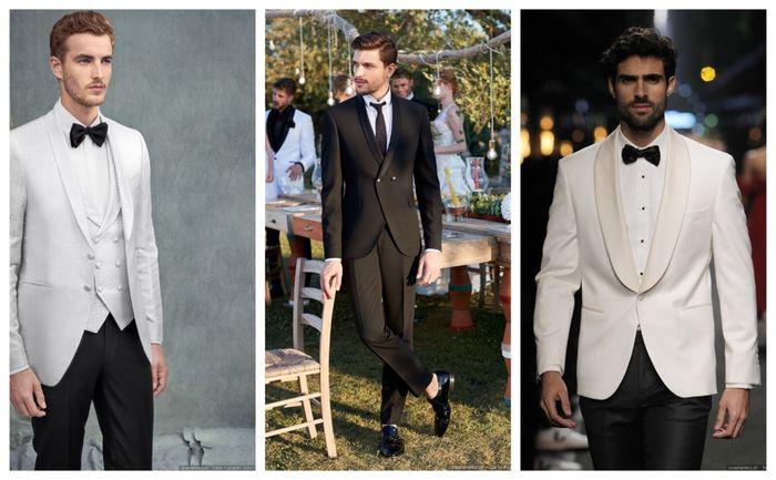 Looks de noivo black & white: sim ou não? 1