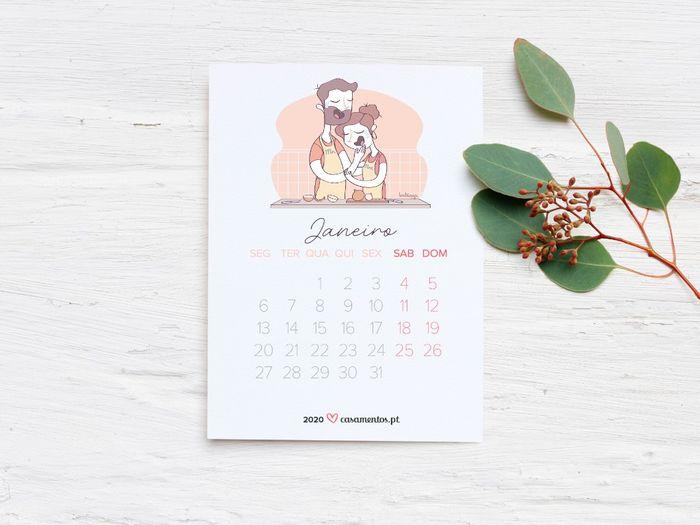 O Calendário casamentos.pt 2020 chegou! Recebe o teu gratuitamente 📅 1