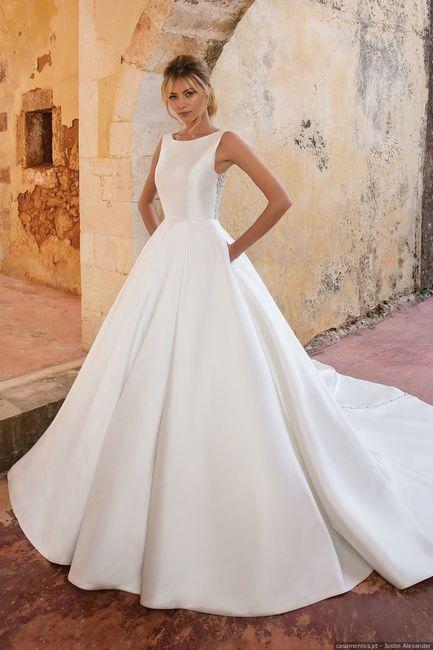 Vestidos para noivas minimalistas: qual destes modelos usarias? 4