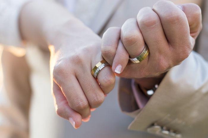 No meu casamento digo sim a...estas alianças! 1