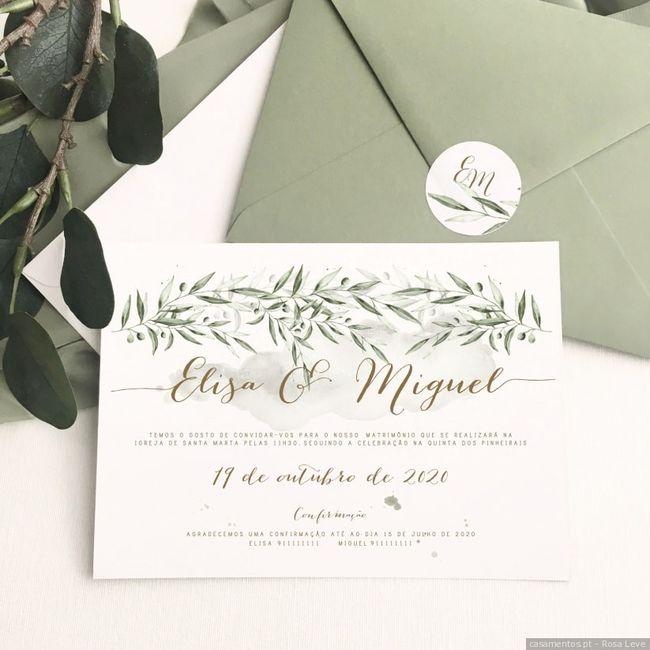 No meu casamento digo sim a...estes convites! 1
