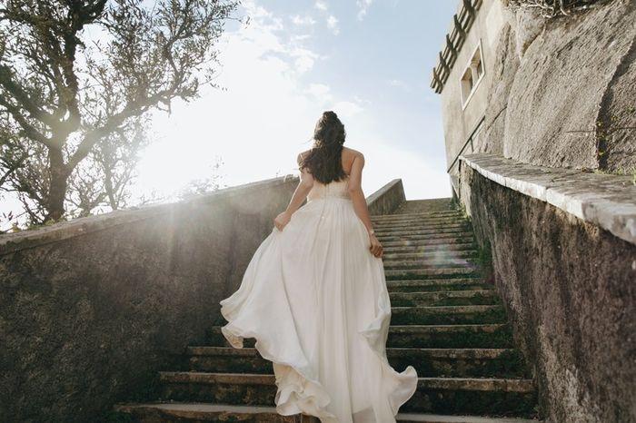 Quantas pessoas te vão acompanhar no momento de escolher o vestido? 1