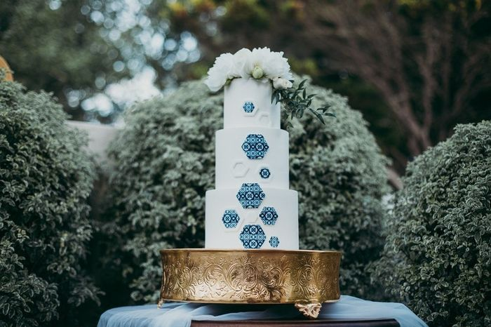 Quantos pisos terá o teu bolo de casamento? 1