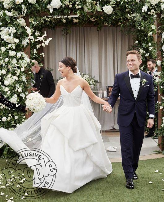 Casamentos 2019: Meghan Trainor VS Lea Michele 1