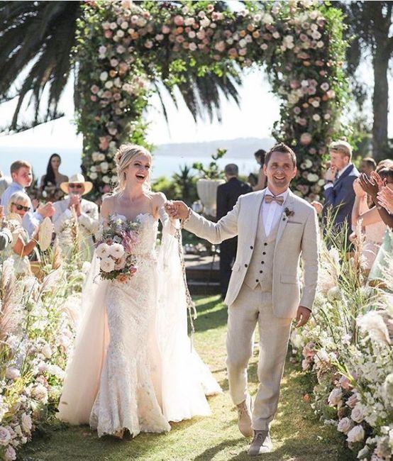 Casamentos 2019: Elie Saab Jr. & Christina Mourad VS Matt Bellamy & Elle Evans 1